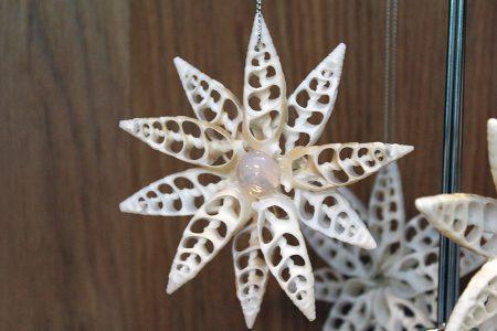 Double Starfish Shape Ornament