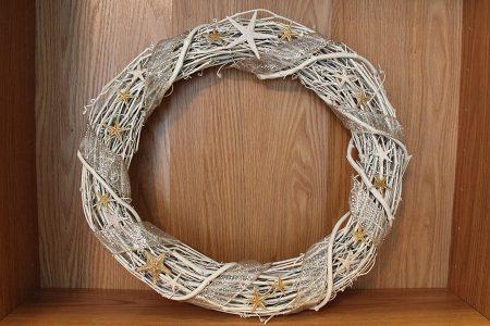 Grapevine Shell Wreath