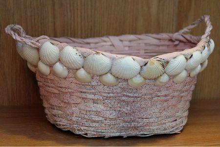 Seashell Basket